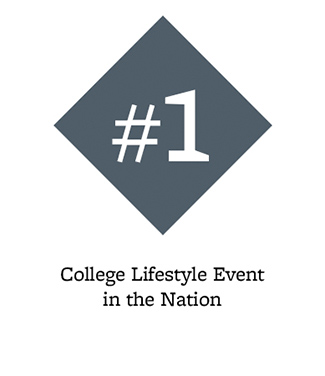 #1 college lifestyle event in the nation