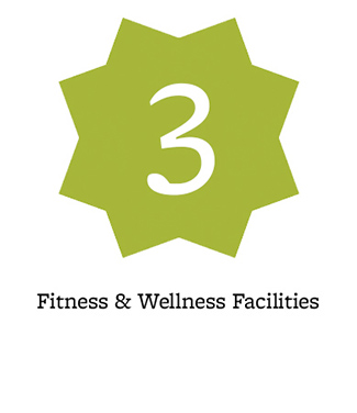 3 fitness & wellness facilities