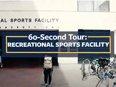 thumbnail from berkeley recreational sports 60 second tour of the recreational sports facility video